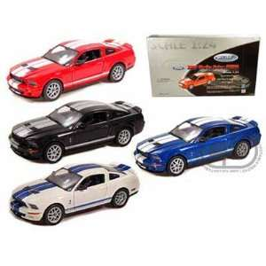 Set of 4  2007 Ford Shelby Cobra GT500 1/24 Toys & Games