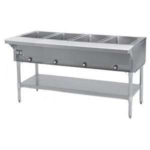 Eagle Group HT4 LP Hot Food Table 4 Wells 63 1/2 Length