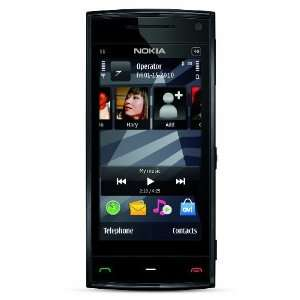 Nokia X6 Unlocked GSM Phone with 5 MP Camera, Capacitive Touch, and 8