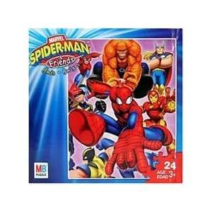 Marvel Spider Man & Friends 24 Piece Puzzle   Image B Toys & Games