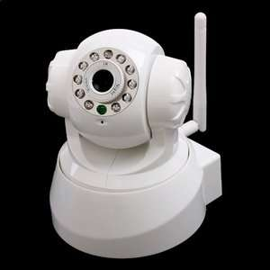 Wireless IP Camera Security IR LED Remote Control Motion Detect Indoor