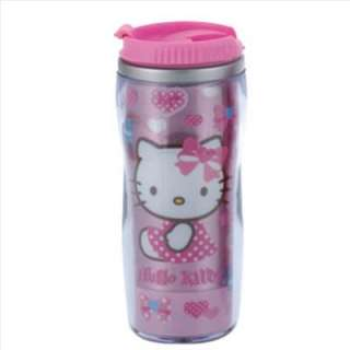 Hello Kitty Water Cup Mug Stainless Tumbler Heart Sanrio