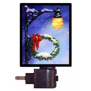 Winter Night Light   Winters Eve   LED NIGHT LIGHT
