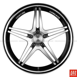20 VERTINI MONACO 5X114.3 WHEELS RIMS INFINITY G35 G37 ACURA WHEELS