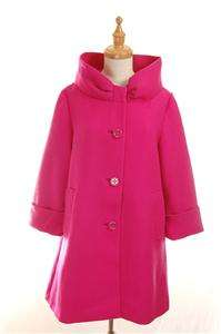 NEW AUTH 2011 FW $695 Classic Kate Spade New York Wool Cherie Coat Hot