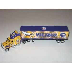 VIKINGS Diecast 180 Scale Replica 05 Peterbilt Tractor Trailer Truck