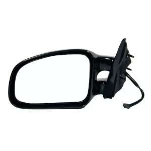 1999 2003 Pontiac Grand AM Power Black Side View Mirror Left Driver