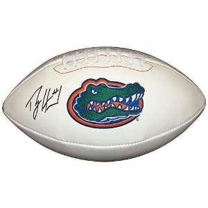 Percy Harvin Hand Signed Autographed Florida Gators Full Size Football