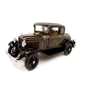 1931 FORD MODEL A COUPE GREEN 118 DIECAST MODEL