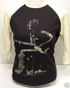 Jimmy Page Guitarist LED ZEPPELIN Vintage 3/4 T Shirt M