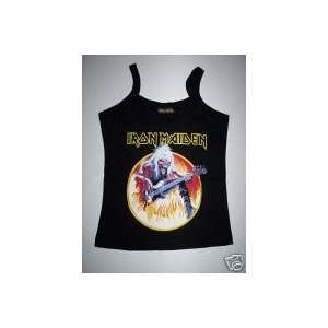 IRON MAIDEN Girls Top SHIRT One Size AWESOME NEW