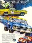 1969 Ford Performance Digest Original Color Brochure Mu