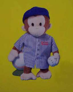 Curious George 12 Pajamas Plush Monkey Soft and Cuddly