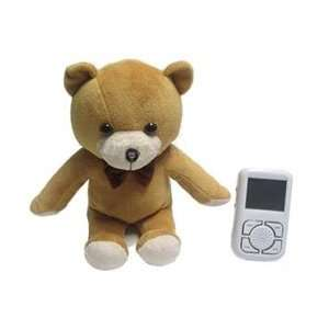 2.5 CMOS Bear shaped Baby Monitor with Built in speaker