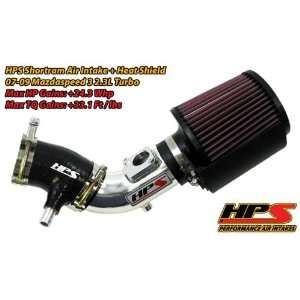 07 09 Mazda Mazdaspeed3 2.3L Short Ram Intake by HPS