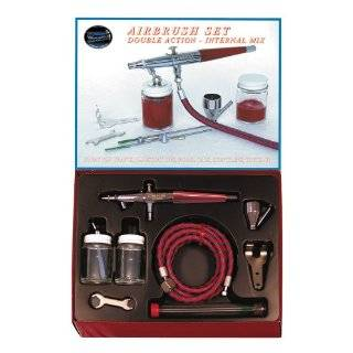 Paasche VLS SET Double Action Siphon Feed Airbrush Set