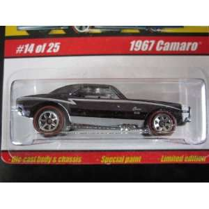 1967 Camaro (Spectraflame Black) 2005 Hot Wheels Classics