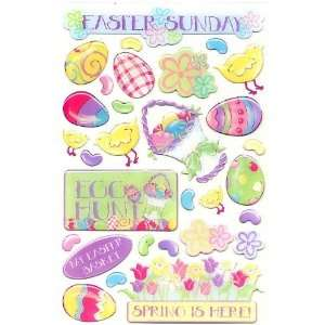 Easter Epoxy Stickers Arts, Crafts & Sewing