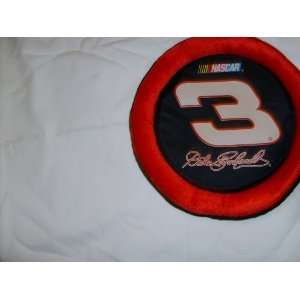 NASCAR Licensed Dale Earnhardt # 3 Plush Flying Disc Dog Toy