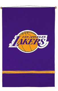 los angeles lakers basketball wall decor hanging banner free economy