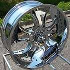 24X9.5 CHROME KMC VENOM WHEELS RIMS FORD F 150 EXPEDITION NAVIGATOR