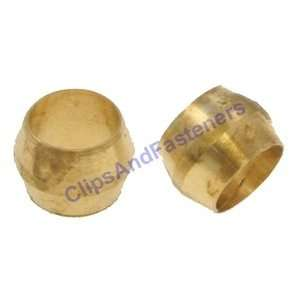 25 Brass Compression Fitting Sleeves 1/4 Automotive