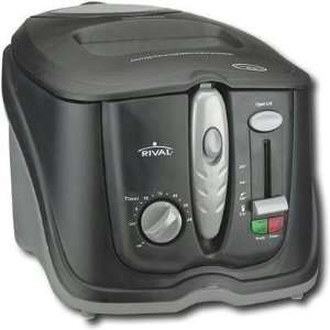 R 3L Cool Touch Deep Fryer Blk