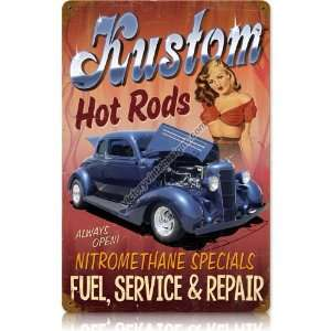 Vintage Signs   Kustom Hot Rods   Automotive and Motorcycle Vintage