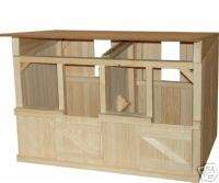 Stall Wooden Stable / Barn Great for Breyer Horses