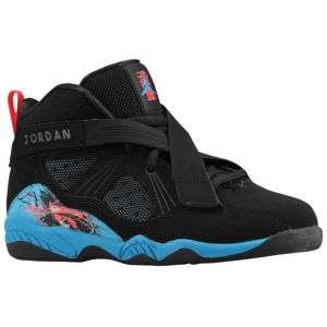 Jordan AJ 8.0   Little Kids   Basketball   Shoes   Black/Neptune Blue