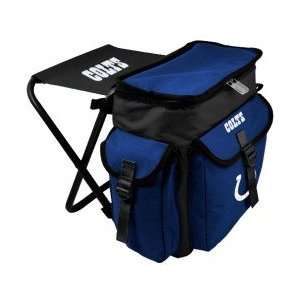 Indianapolis Colts Black Insulated Cooler Chair Sports