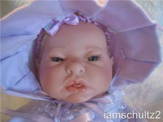 Size Newborn Baby Doll For Reborn or Play W/BEAUTIFUL Clothes
