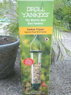 DROLL YANKEES YANKEE FLIPPER SQUIRREL PROOF BIRD FEEDER
