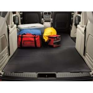 Chrysler Town & Country 2008 2012 Black Rear Cargo Liner