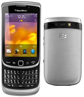 NEW BLACKBERRY TORCH 9810 GREY UNLOCKED PHONE RIM GPS 5MP CAMERA HD