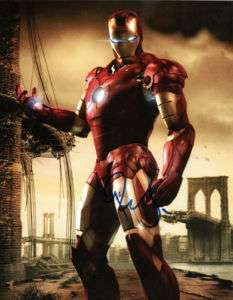 Iron Man 2 Robert Downey Jr. Autograph Copy