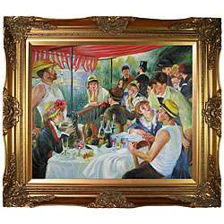 Luncheon of the Boating Party Canvas Art Oil Painting