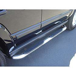 Chevy Silverado Crew Cab 2007 09 Stainless Steel Nerf Bars