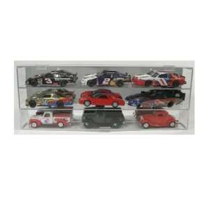 9 Car Display Case 1/24 Toys & Games