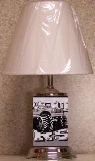 Table Lamp vehicle Iron Horse Monster Truck NEW with shade
