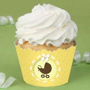 Neutral Baby Carriage   Baby Shower Cupcake Wrappers Toys & Games