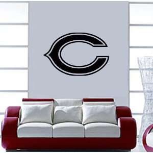 Chicago Bears NFL Wall / Auto Art Vinyl Decal Stickers / 16 X 10.8