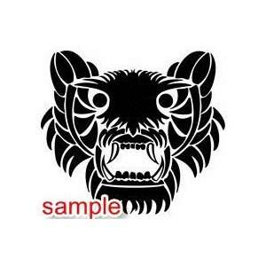 TRIBAL TRIBAL 02 10 WHITE VINYL DECAL STICKER Everything