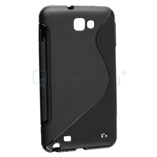 NEW Black Soft TPU Gel Case Cover for Samsung Galaxy Note LTE SGH i717