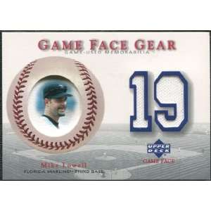 2003 Upper Deck Game Face Gear #ML Mike Lowell Sports Collectibles