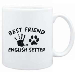 White  MY BEST FRIEND IS MY English Setter  Dogs