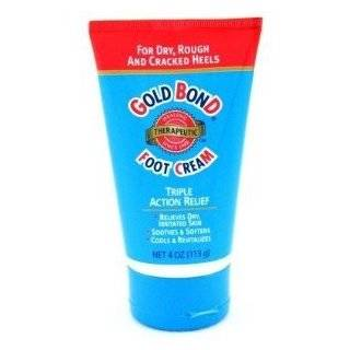 Gold Bond Foot Cream, Triple Action Relief, 4 Ounce Tubes
