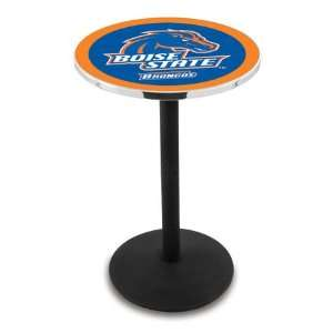 36 Boise State Counter Height Pub Table   Round Base