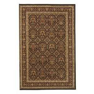 Noble Series II 1308 910 x 1210 Black Area Rug Furniture & Decor