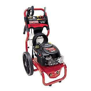 Gas Pressure Washer with 6.0 hp Briggs and Stratton Engine  Craftsman